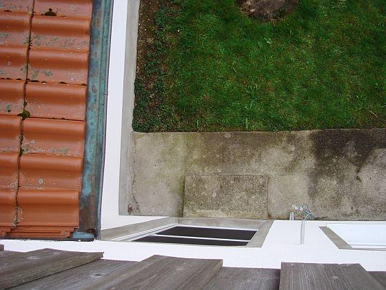 Bau Einer 36 M2 Terrasse Mit Steinmauer Bauanleitung Zum