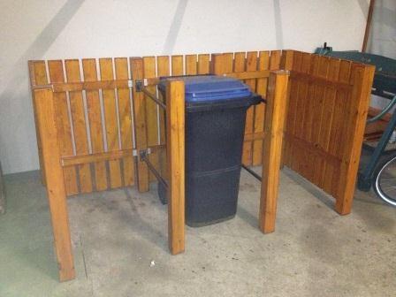 Bau Einer Mülltonnenbox Bauanleitung Zum Selberbauen 1 2