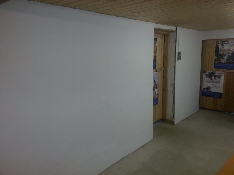 werkstatt verputzen mit einem zementputz bauanleitung zum selberbauen 1 2 deine. Black Bedroom Furniture Sets. Home Design Ideas