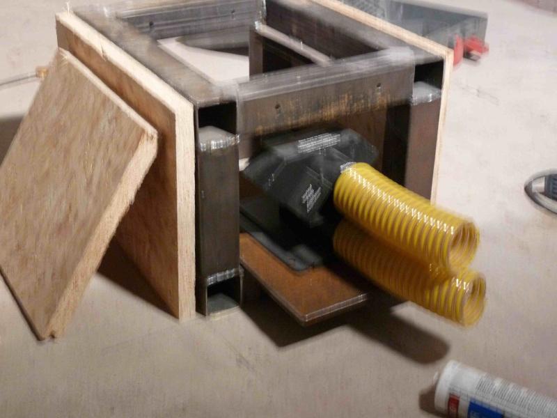 trichterf rmiger pelletslagerraum bauanleitung zum selberbauen 1 2 deine heimwerker. Black Bedroom Furniture Sets. Home Design Ideas