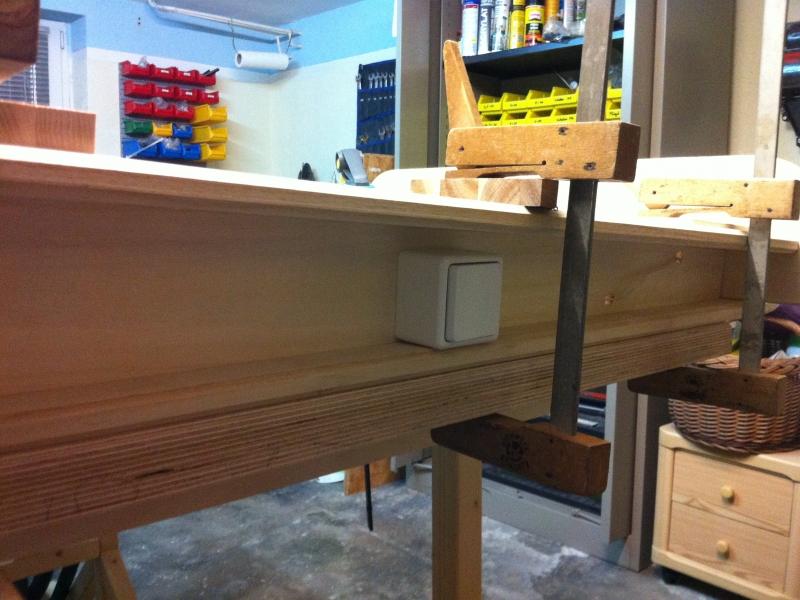 beleuchtete garderobe bauanleitung zum selberbauen 1 2 deine heimwerker community. Black Bedroom Furniture Sets. Home Design Ideas