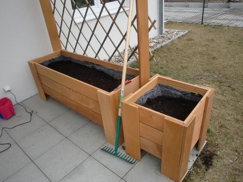 Pflanzkasten Auf Der Terasse Bauanleitung Zum Selberbauen 1 2 Do