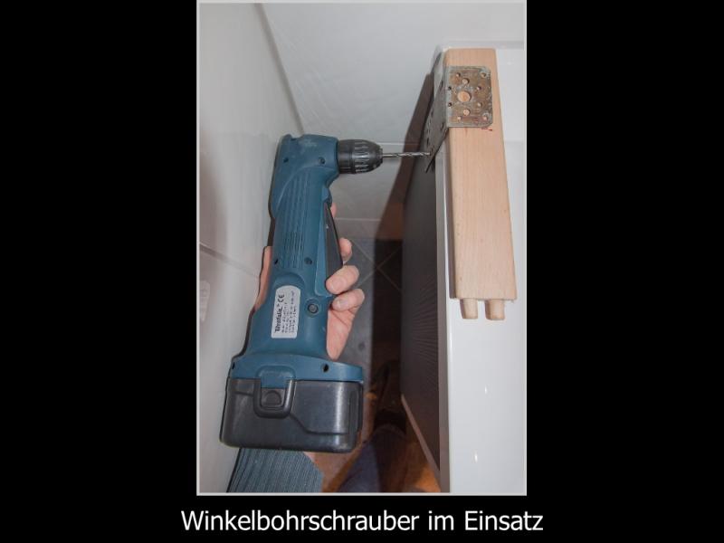 Handtuchhalter montieren bei beengten Platzverhältnissen