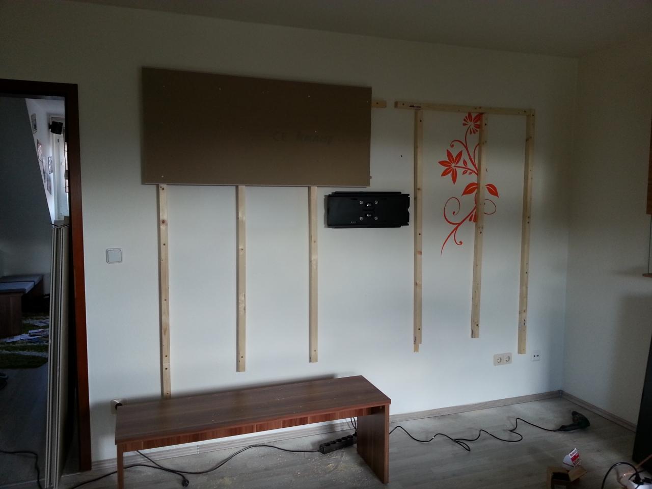 wohnwand / tv wand selbst gebaut - teil 1 - bauanleitung zum