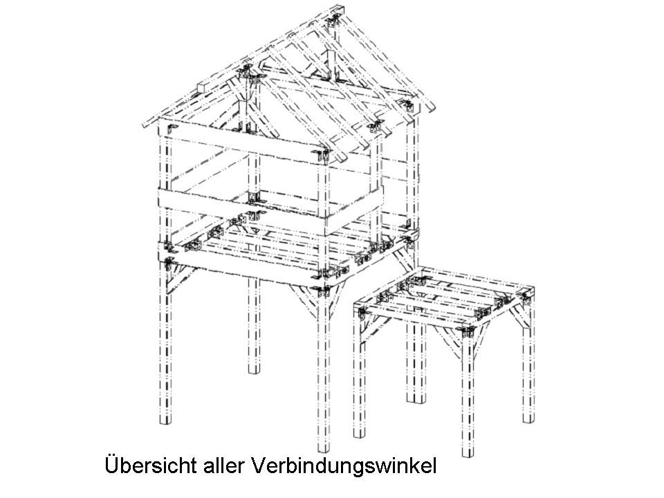 Extrem Stelzenhaus - Bauanleitung zum Selberbauen - 1-2-do.com - Deine GI06