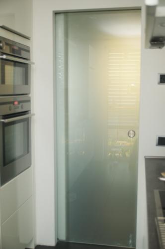 Turbo Glasschiebetür in der Wand - Bauanleitung zum Selberbauen - 1-2-do ZL36