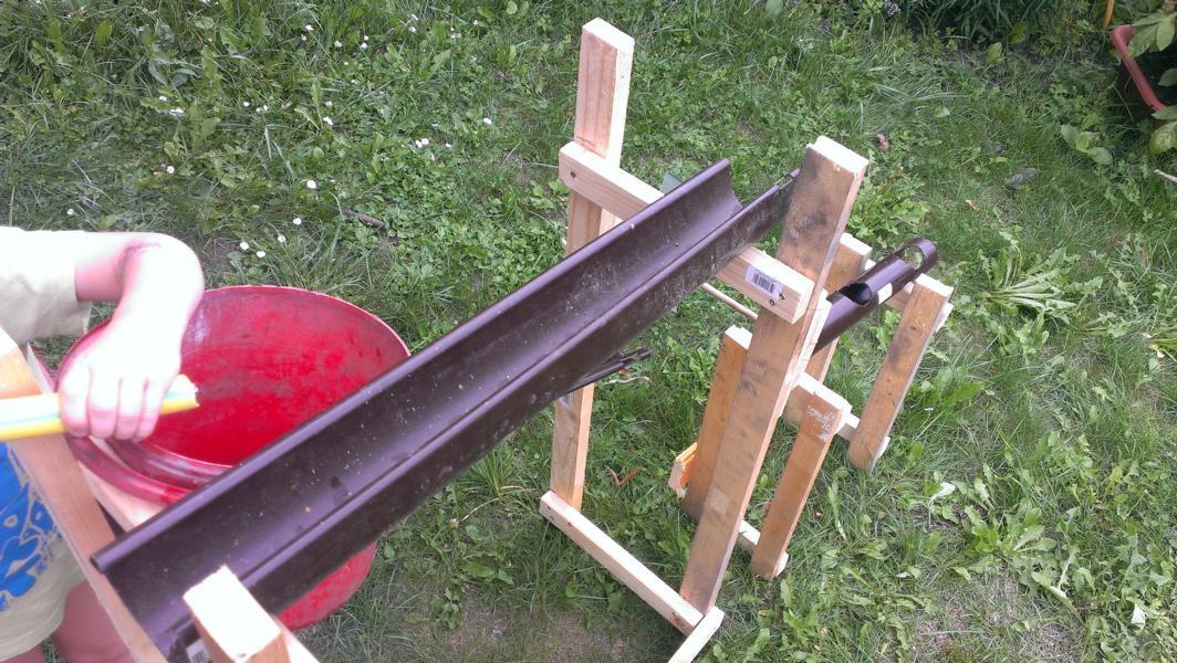 Aus Resten Entsteht Ein Wasserspiel Bauanleitung Zum Selberbauen
