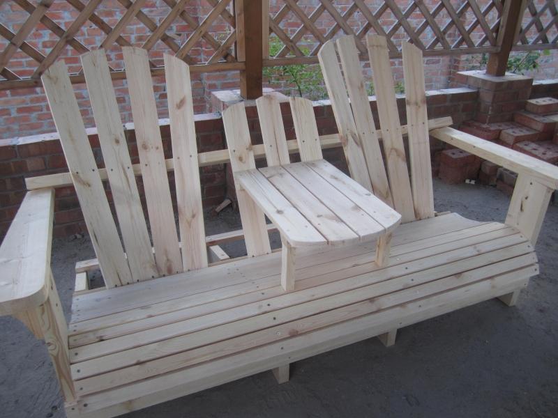 Uberlegen Bereiten Garden Sofa, Für Die Malerei. Sie Können In Ihrer Lieblingsfarbe  Oder Die Farbe Des Holzes Malen Und Verlassen Unter Zwei Schichten Lack.