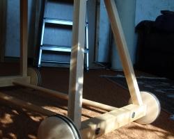 Stubenwagengestell für alten korb bauanleitung zum selberbauen