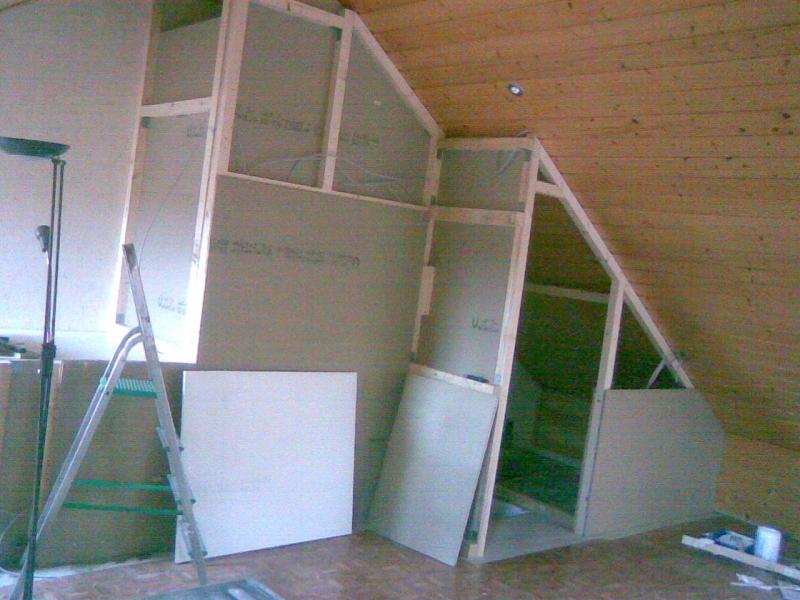 Offenes treppenhaus abtrennen  Dachgeschoss Ausbau (Trennung Treppenhaus) - Bauanleitung zum ...