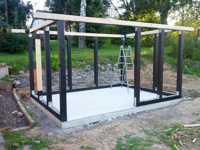 Bau Eines Fachwerkhaus