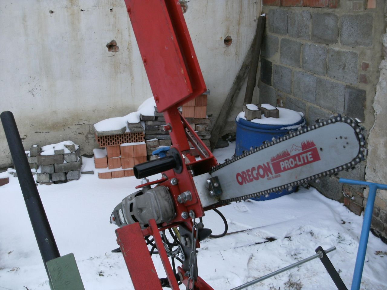 Sehr Sägebock mit Kettensäge - Bauanleitung zum Selberbauen - 1-2-do SH43