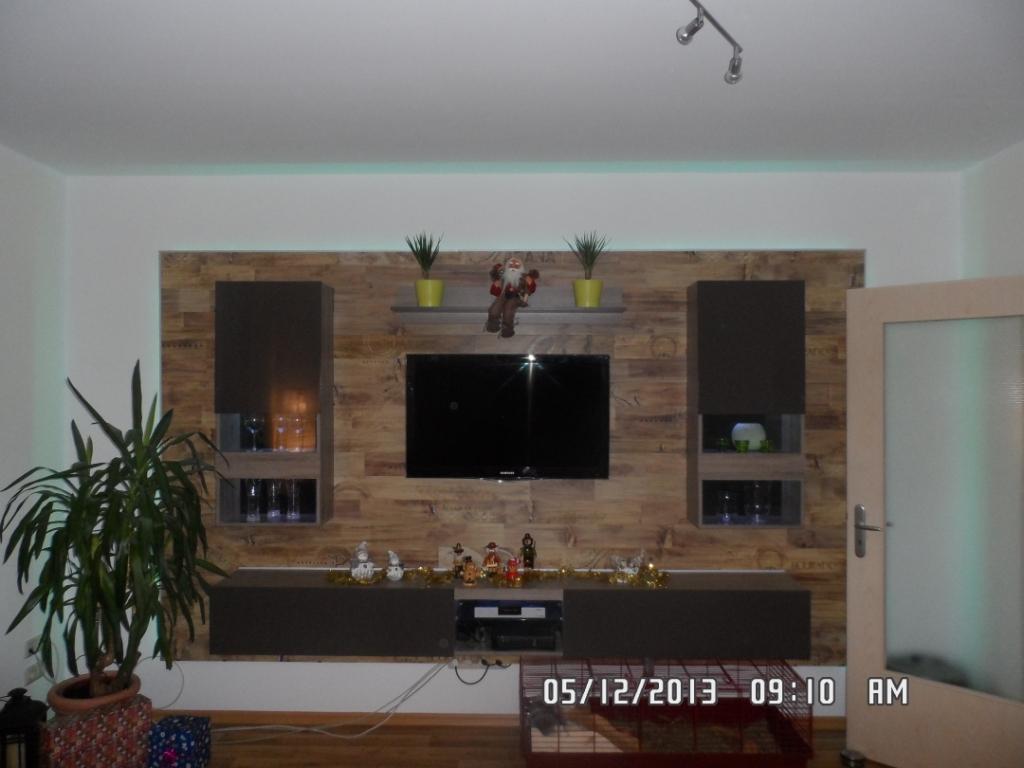 Tv Wand Beleuchtet Selber Bauen Wohn Design