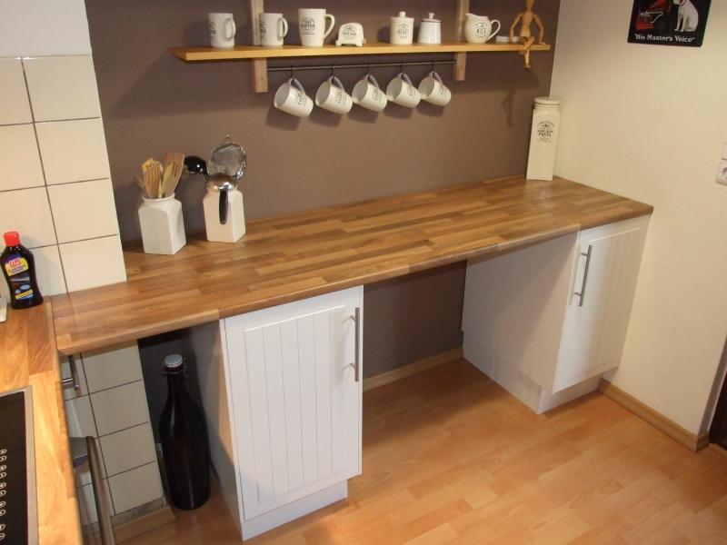Ausziehbarer Tisch unter der Küchenarbeitsplatte - Bauanleitung zum ...