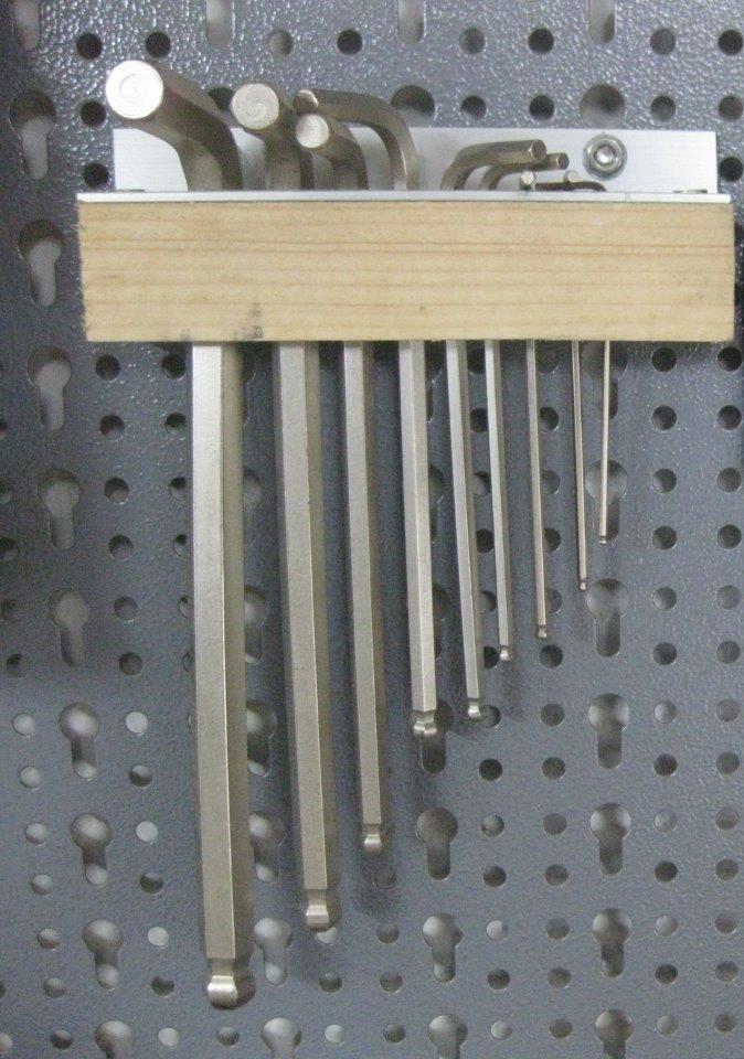 Favorit Ideen für die Werkzeugwand - Bauanleitung zum Selberbauen - 1-2-do UE91