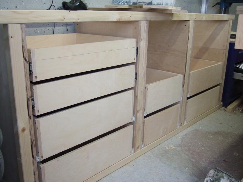 schubladenschrank f r werkstatt bauanleitung zum selberbauen 1 2 deine heimwerker. Black Bedroom Furniture Sets. Home Design Ideas