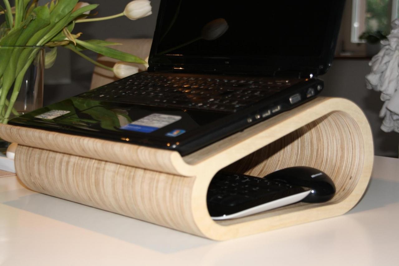 design laptop halter - bauanleitung zum selberbauen - 1-2-do