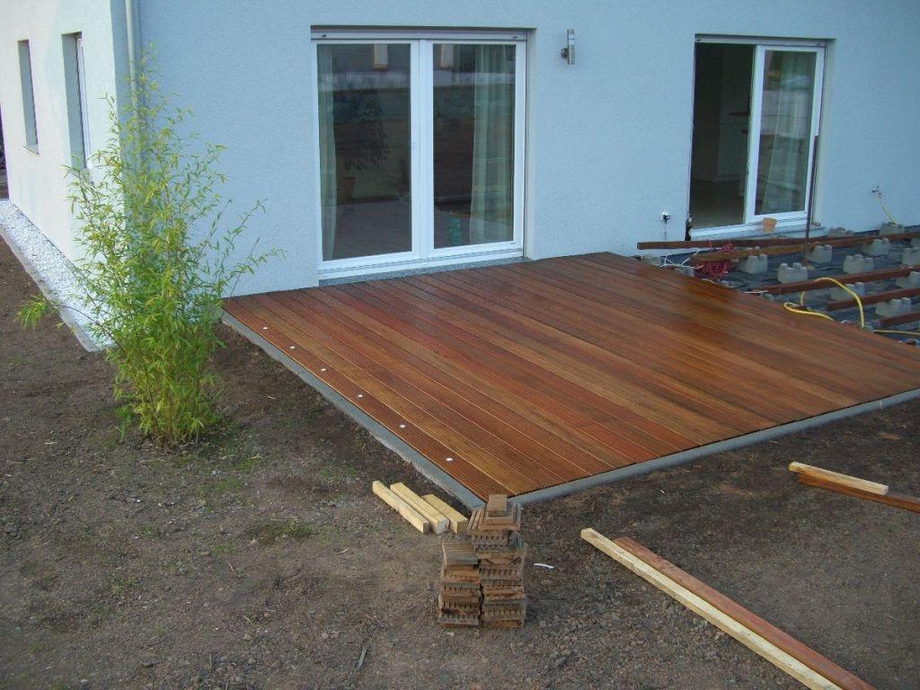 Bau einer Holzterrasse   Bauanleitung zum Selberbauen   200 20 do.com ...
