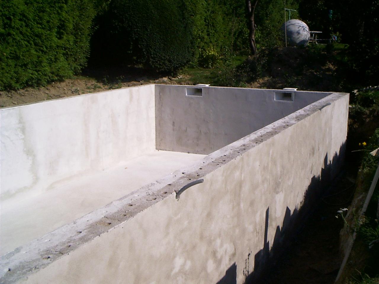schwimmbad / aussenpool selber bauen - bauanleitung zum selberbauen