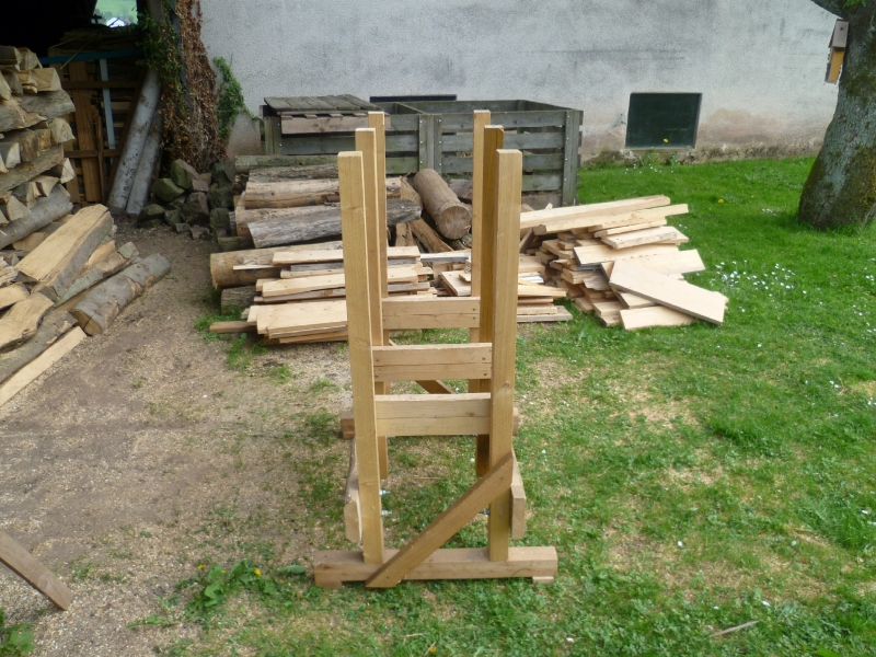 Gemeinsame Holzsägebock - Bauanleitung zum Selberbauen - 1-2-do.com - Deine @PC_44