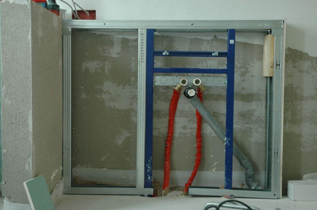 Trockenbau Verkleidung Im Bad Auf Estrich Bauanleitung Zum