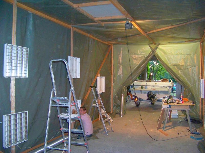 bau einer lackierhalle bauanleitung zum selberbauen 1 2 deine heimwerker community. Black Bedroom Furniture Sets. Home Design Ideas