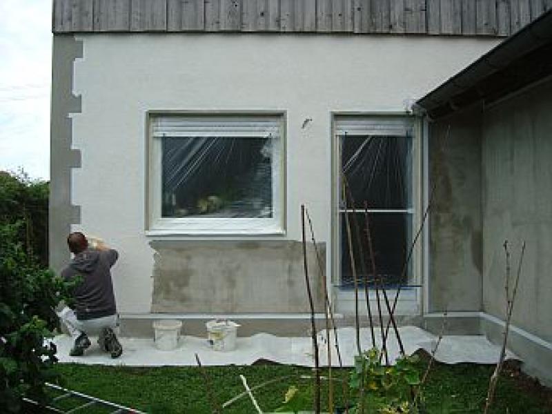 Fassade neu verputzen - Bauanleitung zum Selberbauen - 1-2-do.com ...