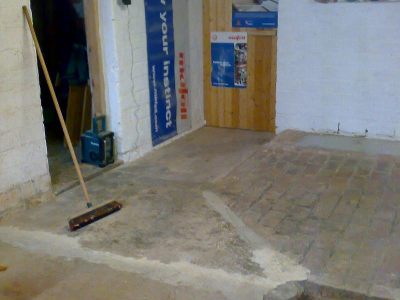 Betonfußboden Selber Machen ~ Werkstatt boden neu betonieren bauanleitung zum selberbauen