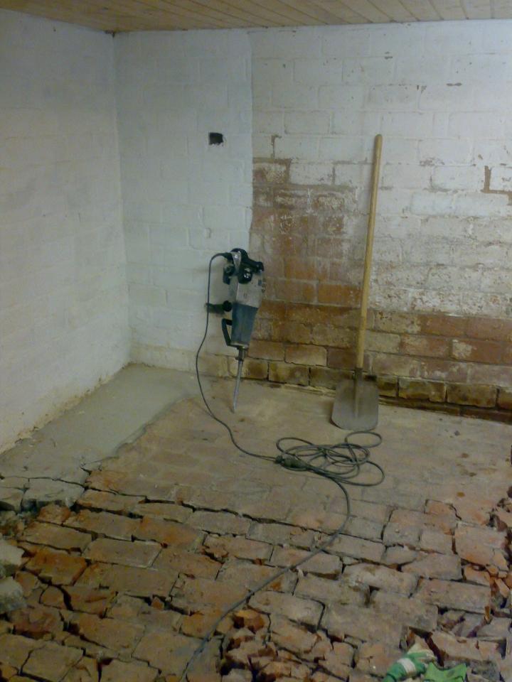 Lieblings Werkstatt Boden neu betonieren - Bauanleitung zum Selberbauen - 1 &IF_34