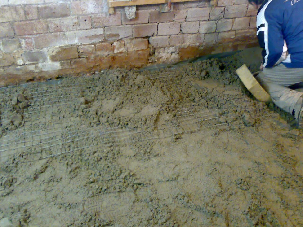 Fußboden Werkstatt ~ Werkstatt boden neu betonieren bauanleitung zum selberbauen